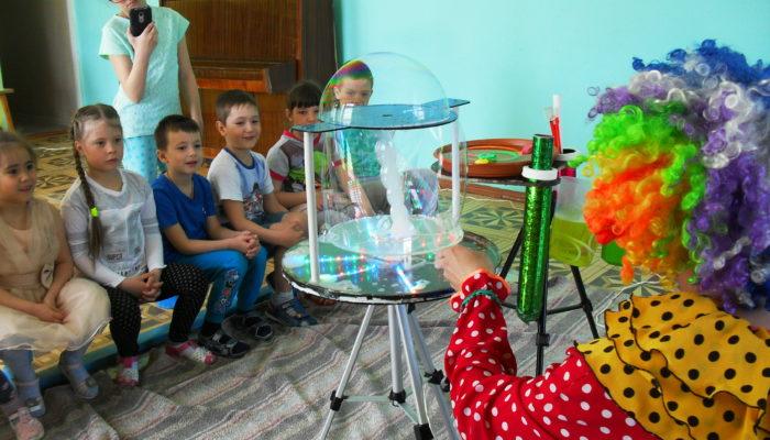 картинка мыльные пузыри детсад 18