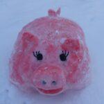 конкурс снежных фигур «Снежная сказка».